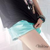 Victoria 天絲棉 B.F.色褲-女-蛋白綠