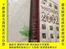 二手書博民逛書店Whitaker s罕見Almanac 2002 惠特克年鑑2