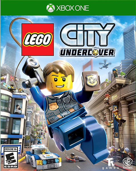 X1 LEGO City Undercover 樂高小城:臥底密探(美版代購)