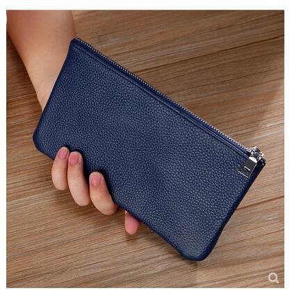 手機包超薄長款大容量錢包男女拉錬包簡約錢夾手拿包 黛尼時尚精品