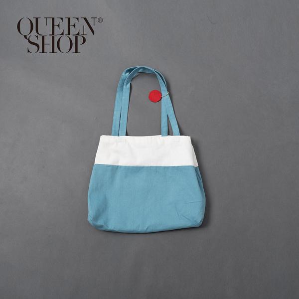 Queen Shop【06070289】富士山配色造型帆布包*現+預*