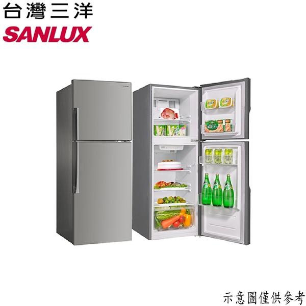 【SANLUX台灣三洋】168公升 雙門冰箱 SR-C168B