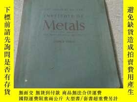 二手書博民逛書店THE罕見JOURNAL OF THE INSTITUTE OF
