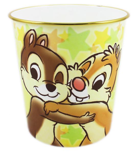 【卡漫城】 奇奇蒂蒂 垃圾桶 擁抱 22CM ㊣版 日版 辦公室 房間 垃圾筒 紙筒 Chip n Dale 迪士尼
