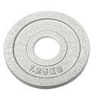 奧林匹克鑄鐵槓片1.25KG(二入)/重量片/烤漆槓片/重量訓練/