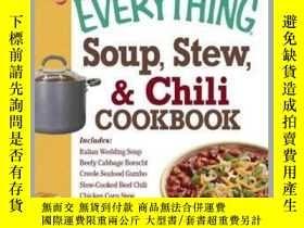二手書博民逛書店The罕見Everything Soup, Stew, and Chili CookbookY410016 B