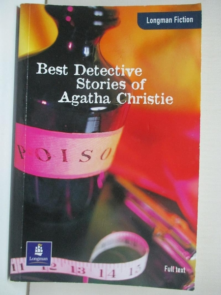 【書寶二手書T4/一般小說_ICE】Best Detective Stories of Agatha Christi_Agatha Christie