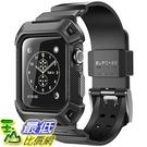 [106美國直購] SUPCASE 黑色 42mm Apple Watch 2 Case (含錶帶) 手錶保護殼 [Unicorn Beetle Pro] 系列