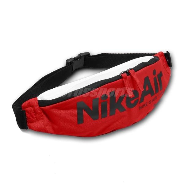 Nike 腰包 NSW Heritage 2.0 Fanny Pack 紅 黑 男女款 斜背包 運動休閒 【ACS】 CT5226-657