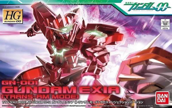 鋼彈模型 HG 1/144 GN-001 能天使鋼彈 EXIA Trans-AM 機動戰士鋼彈00 TOYeGO 玩具e哥