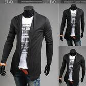 針織衫男士毛衣開衫外套 薄款打底衫  五色 E2827