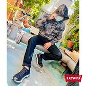 Levis 男款 重磅口袋帽T / 寬鬆休閒版型 / 精工刺繡Logo / 425GSM厚棉 / 礦石紋理