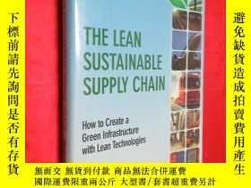 二手書博民逛書店The罕見Lean Sustainable Supply Cha