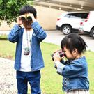 兒童便攜雙筒望遠鏡5*30高清...
