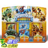 [美國直購] Activision B009716CNW Skylanders Giants Triple Pack #5 (Prism Break, Lightning Rod & Drill Sergeant) 玩偶