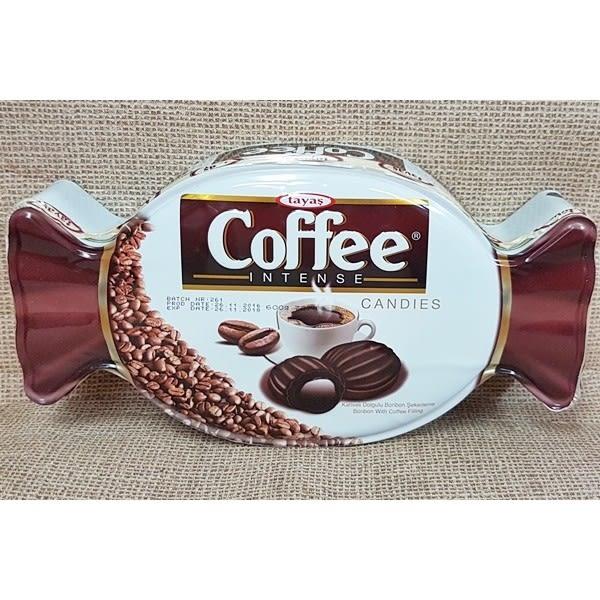(土耳其)塔雅思糖果造型禮盒-咖啡夾心糖 1盒600公克 【8690997172747】
