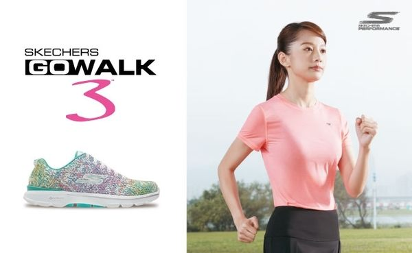 SKECHERS 女健走鞋GO WALK 3 (黑) 懶人鞋 運動鞋