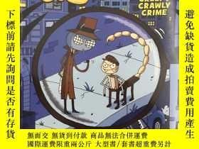 二手書博民逛書店Creepy罕見Crawly CrimeY19139 Aaron