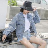 牛仔外套女短款韓版春季短外套bf寬鬆2018新款學生牛仔衣服秋外套