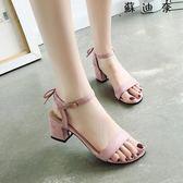 高跟鞋粗跟涼鞋韓版女鞋