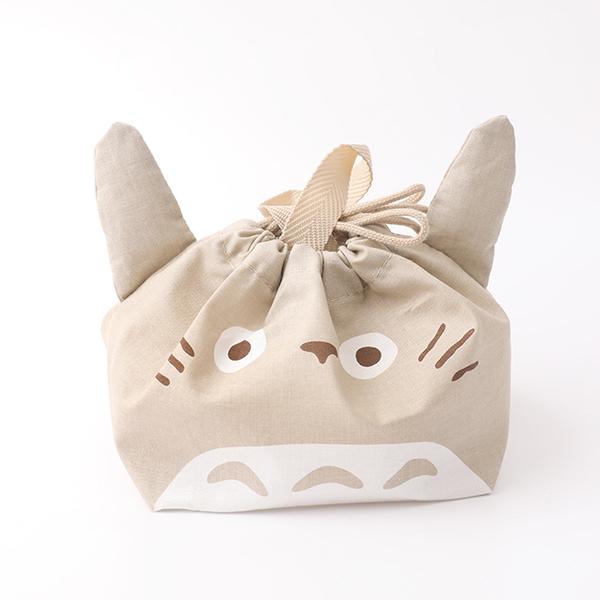 日貨棉質手提束口袋 KB7D豆豆龍- 日本進口 Skater 收納袋 龍貓 手提袋 便當袋 聖誕禮物