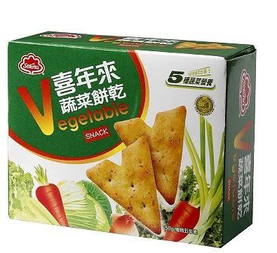 喜年來蔬菜餅乾(50g/盒)*1盒【合迷雅好物超級商城】