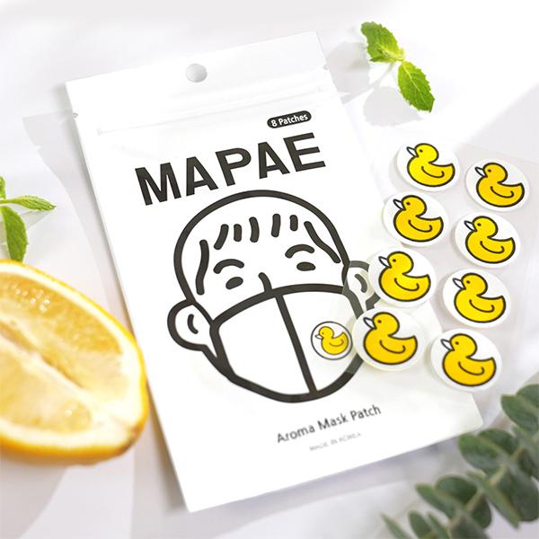 韓國 MAPAE 鴨鴨口罩香氛貼 8入/包 薄荷植萃精油 尹斗俊同款【YES 美妝】