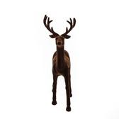 咖啡色鹿擺飾31.5cm