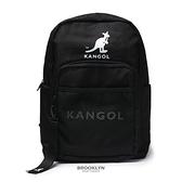 KANGOL 後背包 多功能收納包 後揹 黑 男女 (布魯克林) 6055320420