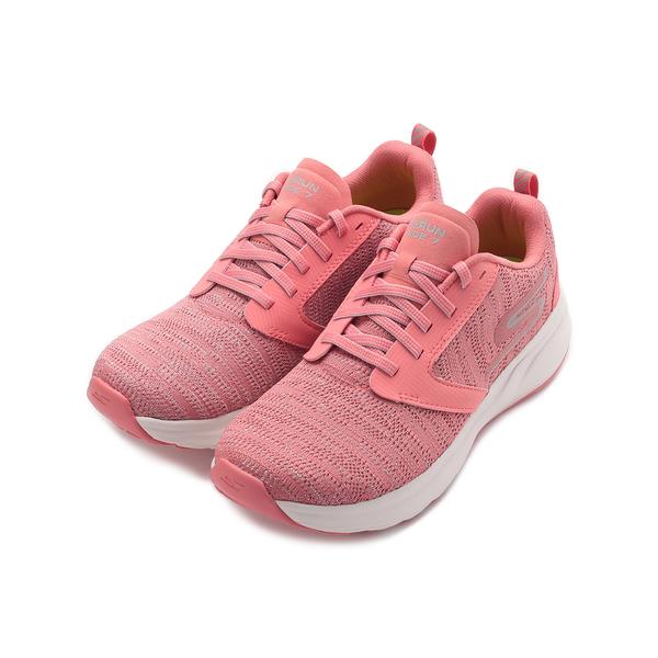 SKECHERS 慢跑系列 GO RUN RIDE 7 綁帶運動鞋 粉橘 15200LTPK 女鞋