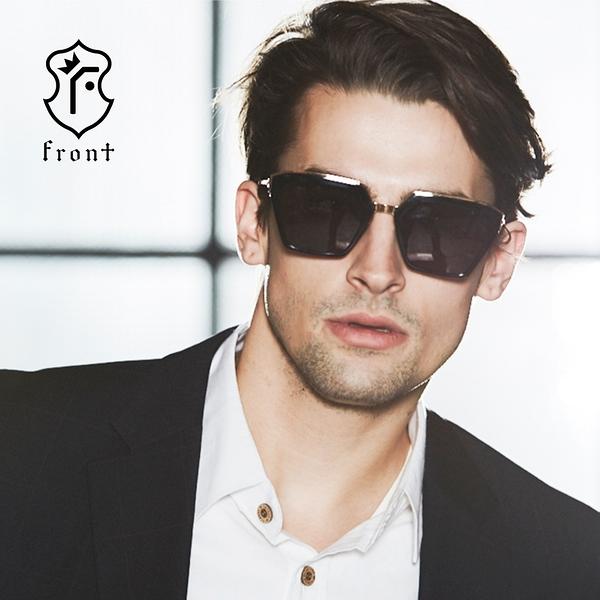 【Front 太陽眼鏡】Always-四色可挑選#時尚造型大框太陽眼鏡/墨鏡