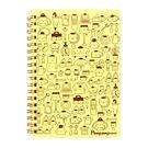《Sanrio》布丁狗快樂生活系列B6線圈筆記本(偽裝小物)★funbox生活用品★_UA48130