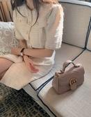 ■專櫃72折■Gucci 全新真品 迷你 GG Marmont 2用包 乾燥玫瑰裸色