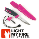 【Light My Fire 瑞典 魔術火刀 紫紅】LF1211-07/魔術火刀/戶外刀具/戶外生火