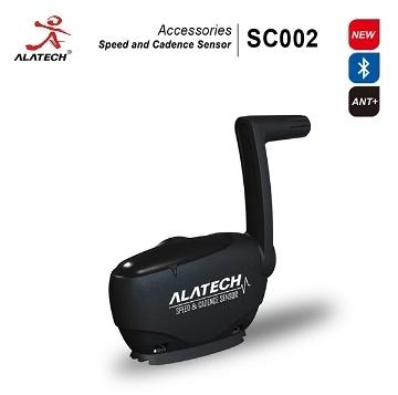 【超人生活百貨】ALATECH SC002藍牙/ANT+雙頻單車速度踏頻感測器 IPX6防水無滲透 適應各種車型