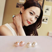 耳環 氣質簡約必備款單珍珠耳釘耳針耳環【TS250】 icoca  02/01