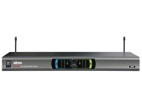 ^聖家^MIPRO 嘉強雙頻道自動選訊接收機 MR-823【全館刷卡分期+免運費】