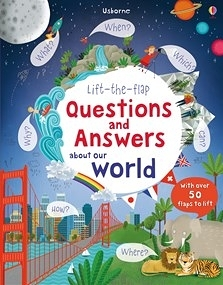 【科學操作書】LIFT FLAP QUESTIONS AND ANSWERS ABOUT OUR WORLD / 硬頁精裝