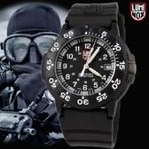 【萬年鐘錶】LUMINOX 雷明時 海豹部隊指標系列經典腕錶  黑x黑   43mm  LM-A3001