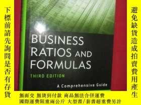 二手書博民逛書店Business罕見Ratios And Formulas, T