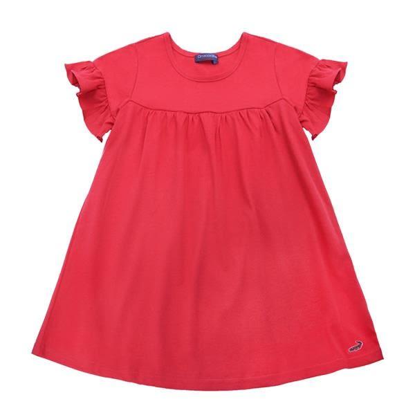 『小鱷魚童裝』荷葉袖洋裝(08號~14號)531306