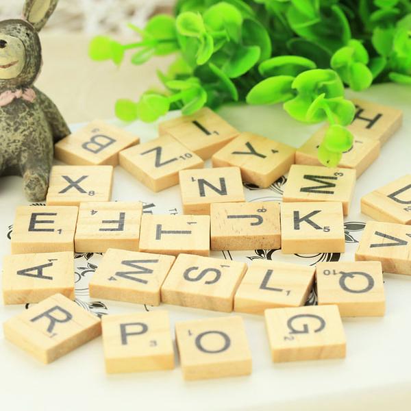 26個木質英文字母 diy創意擺件 家居裝飾拍照攝影擺設拍攝道具─預購CH1567