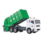 HY TRUCK華一 5012-12垃圾車 工程合金車模型車 資源回收車 環保車(1:50)【楚崴玩具】