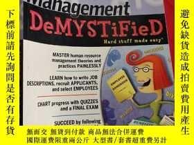 二手書博民逛書店Human罕見Resource Management DeMYSTiFieD (16開) 【詳見圖】Y5460