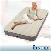 【INTEX】新型氣柱-單人加大植絨充氣床墊-寬99cm(64707)