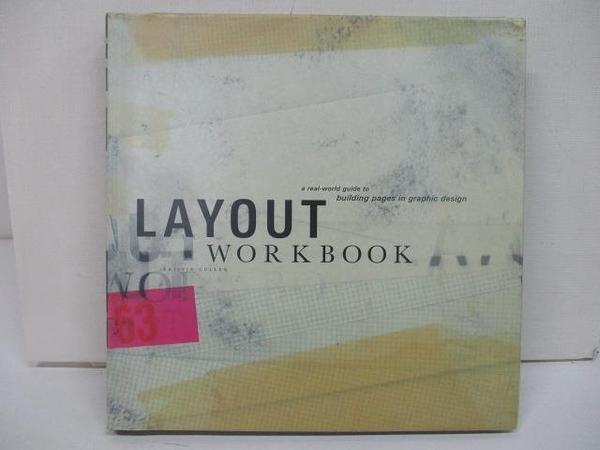【書寶二手書T1/藝術_EFS】Layout Workbook-Cullen