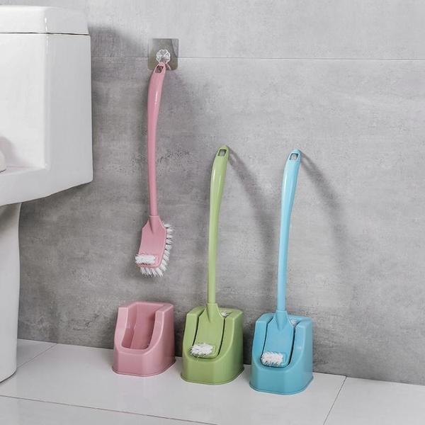 地板刷 家用馬桶刷套裝創意衛生間洗廁所刷子新款長柄無死角清潔刷無死角 零度WJ