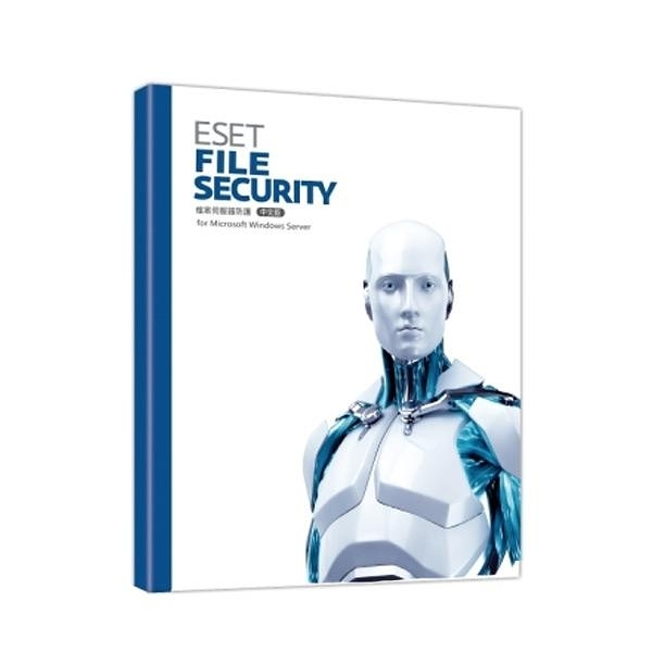 NOD32 for Single Win OR Linux File Server單機伺服器版1年