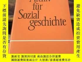 二手書博民逛書店Archiv罕見fur Sozialgeschichte XLVI【精裝】Y203750 Verlag J.H