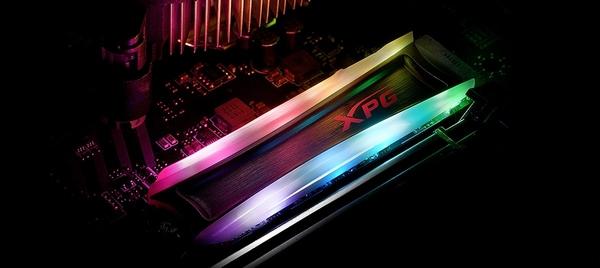 威剛 XPG SPECTRIX S40G RGB 256GB M.2 2280 固態硬碟